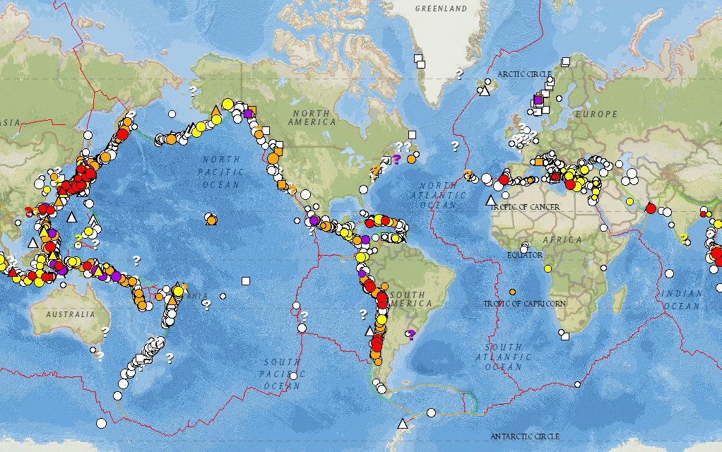 world map of tsunami affected areas image collections