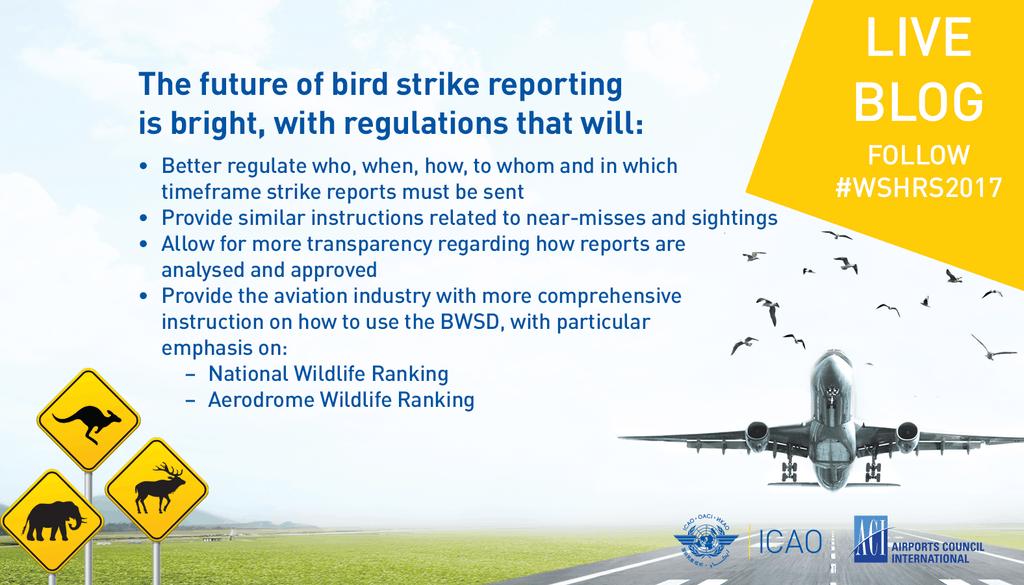 Wildlife Strike Hazard Reduction Symposium Live Blog