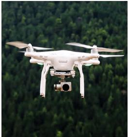 lunette pour drone