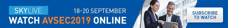 SkyLive Header Banner – AVSEC 2019 728×90